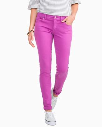 Southern Tide Resort Colored Skinny Jean - Radiant Orchid