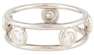 Tiffany & Co. Platinum Diamonds By The Yard Ring