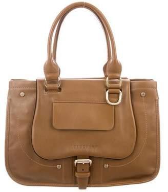 Longchamp Leather Handle Bag