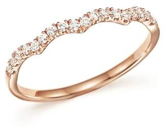 Bloomingdale's Diamond Stackable Band Ring in 14K Rose Gold, .15 ct. t.w. - 100% Exclusive