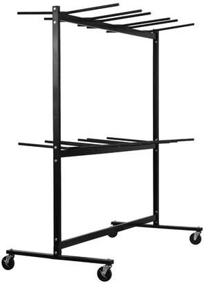 AdirOffice Two Tier Folding Cart Chair Dolly