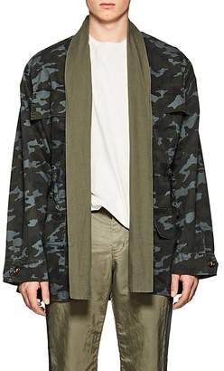NSF Men's Camouflage Cotton Field Jacket