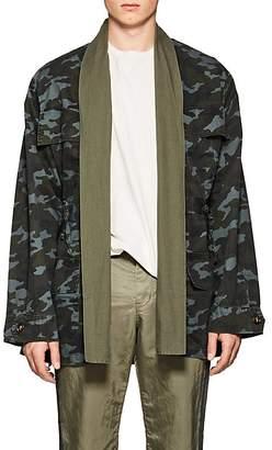 NSF Men's Camouflage Cotton Field Jacket