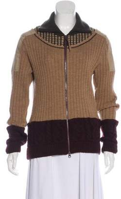 Issey Miyake Heavy Knit Cardigan
