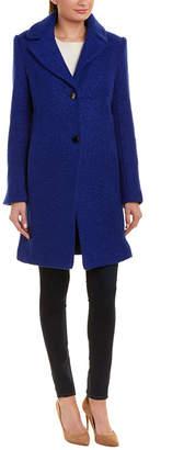 Tahari Tessa Wool-Blend Coat