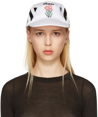 Off-White White New Flower Cap $145 thestylecure.com