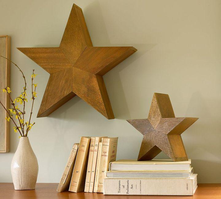 Pottery Barn Reclaimed Wood Stars