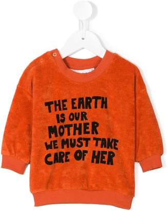 Mini Rodini mother earth print sweatshirt