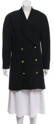 Chanel Double-Breasted Coat