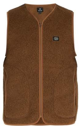 Snow Peak - Wool Blend Fleece Gilet - Mens - Brown