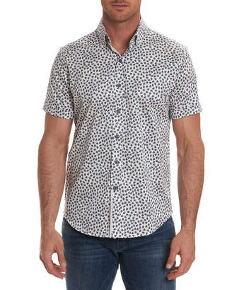 Robert Graham Anders Tailored Fit S/S Woven Shirt