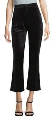 Goldie Velvet Cropped Pants