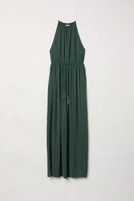 H&M Sleeveless Maxi Dress - Green