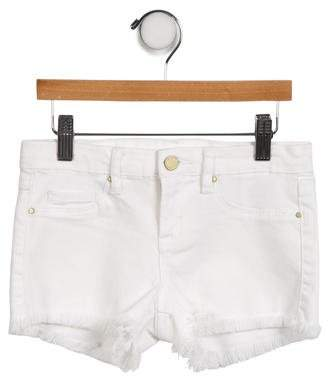 Blank NYC Girls' Distressed Denim Shorts