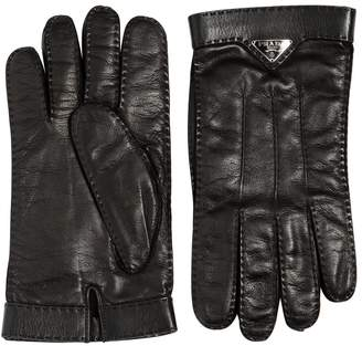 Prada Nappa Leather Gloves