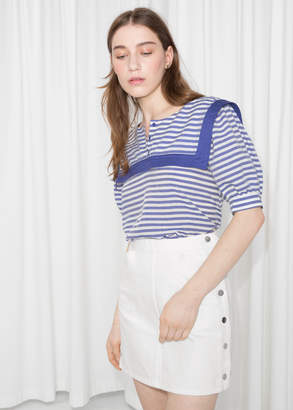 And other stories Nautical Sailor Blouse