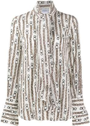 Salvatore Ferragamo chain print shirt