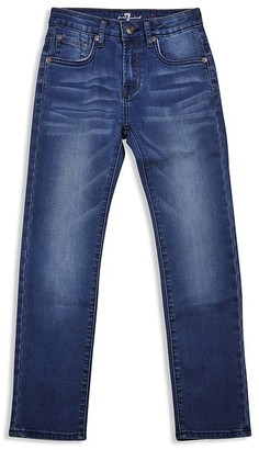 7 for All Man Kind Boys' Slimmy Straight Jeans - Sizes 4-7 $55 thestylecure.com