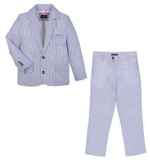 Andy & Evan Baby Boy's Two-Piece Jacket and Pants Set