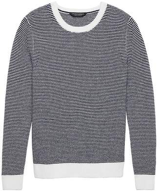 Banana Republic BR x Kevin Love | Cashmere Textured Crew-Neck Sweater