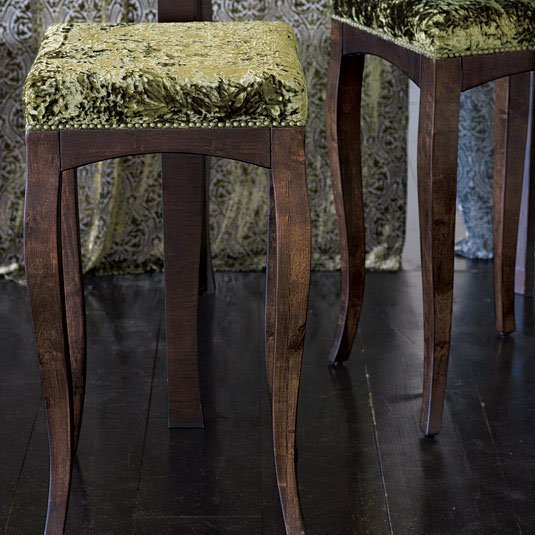 Upholstered Bar Stool - Ivy