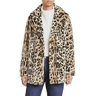 Kenneth Cole Women's Animal Faux Fur Coat