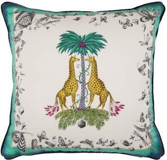 Emma J Shipley Giraffe Cushion (45cm x 45cm)