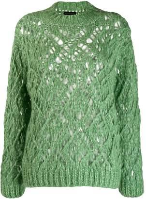Stine Goya Alexa open-knit jumper