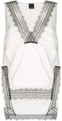 Pinko lace loose blouse