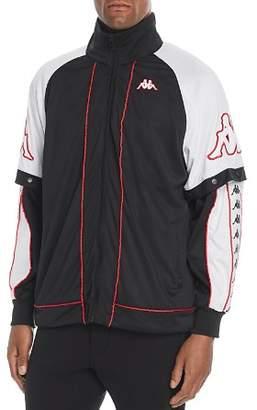 Kappa Big Bay Convertible Color-Block Track Jacket