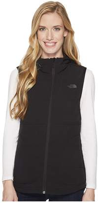 The North Face Mountain Sweatshirt Hooded Vest Women's Sleeveless