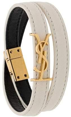 Saint Laurent Opyum double-loop bracelet