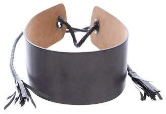 Max Mara Leather Waist Belt