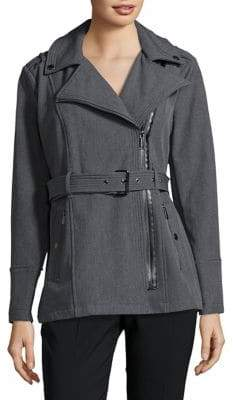 MICHAEL Michael Kors Asymmetrical Zip Jacket