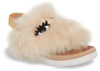 UGG Punki Genuine Shearling Sandal (Little Kid & Big Kid)