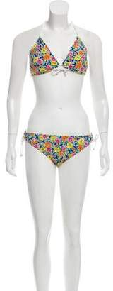 Ralph Lauren Floral Print Two-Piece Swimsuit w/ Tags