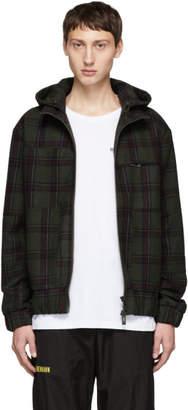 Han Kjobenhavn Green Tweed Check Jacket