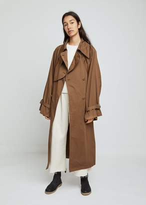 MM6 MAISON MARGIELA Garment Dyed Trench Coat