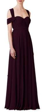 Jenny Yoo Mira Strapless Floor-Length Dress