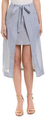 J.o.a. Two Layer Pencil Skirt