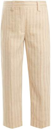 Acne Studios Trea straight-leg linen-blend trousers