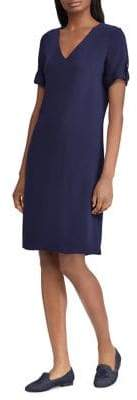 Lauren Ralph Lauren Crepe Shift Dress