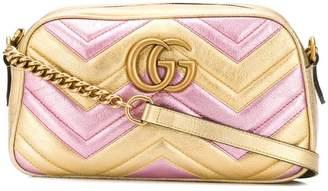 Gucci laminated GG Marmont bag