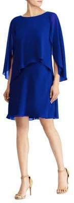 Lauren Ralph Lauren Layered Georgette Shift Dress