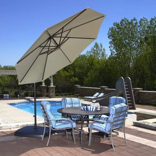 Blue Wave 10' Cantilever Umbrella