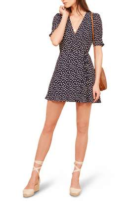 Reformation Lucky Wrap Dress