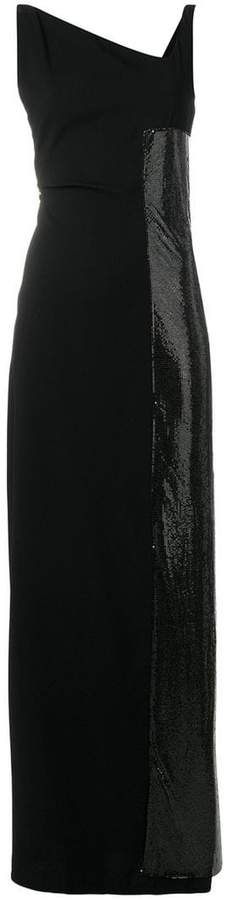 Paco Rabanne sequin panel maxi dress