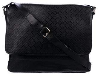 Gucci Diamante Leather Messenger Bag
