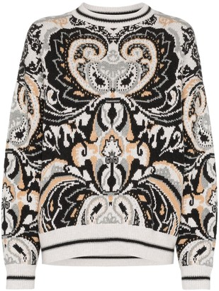 See by Chloe paisley tapestry jumper