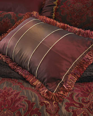 "Isabella Collection By Kathy Fielder Striped Boudoir Pillow, 14"" x 20"""